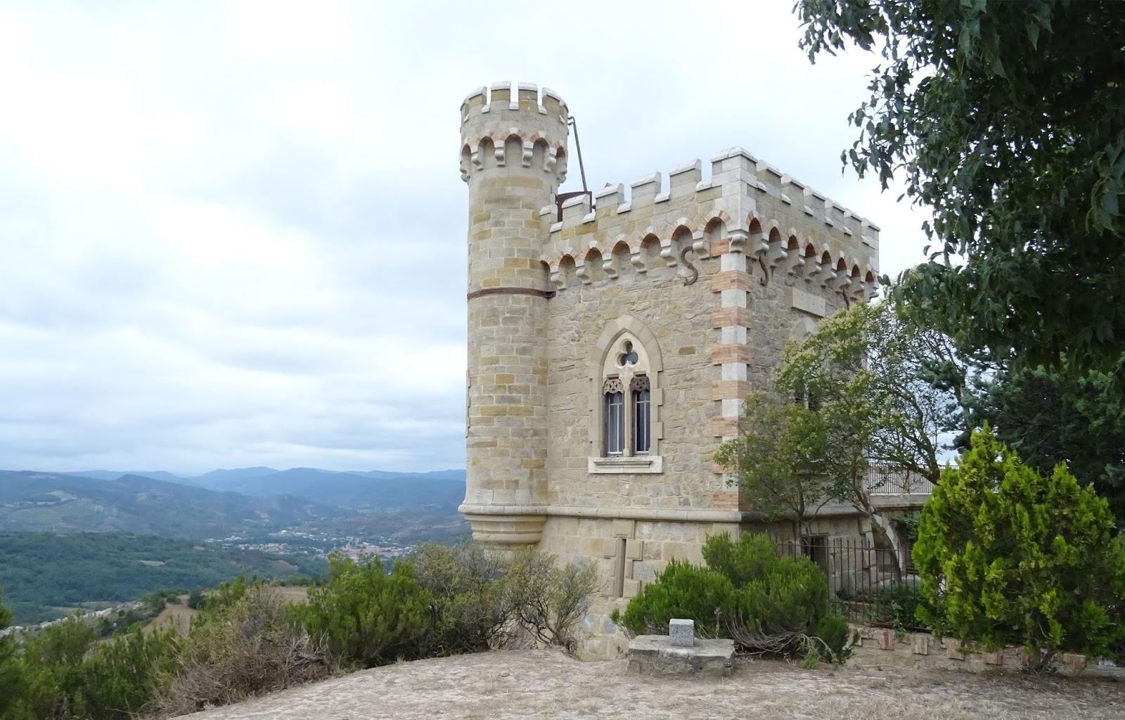 Rennes-le-château tour Magdala - Aude - France
