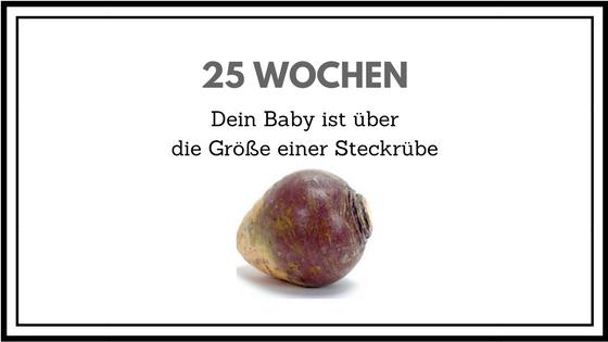 25 WOCHEN SCHWANGERSCHAFT