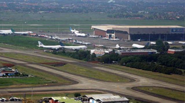 """Jelang Lebaran, Perbaikan """"Runway"""" Bandara Dihentikan Sementara"""