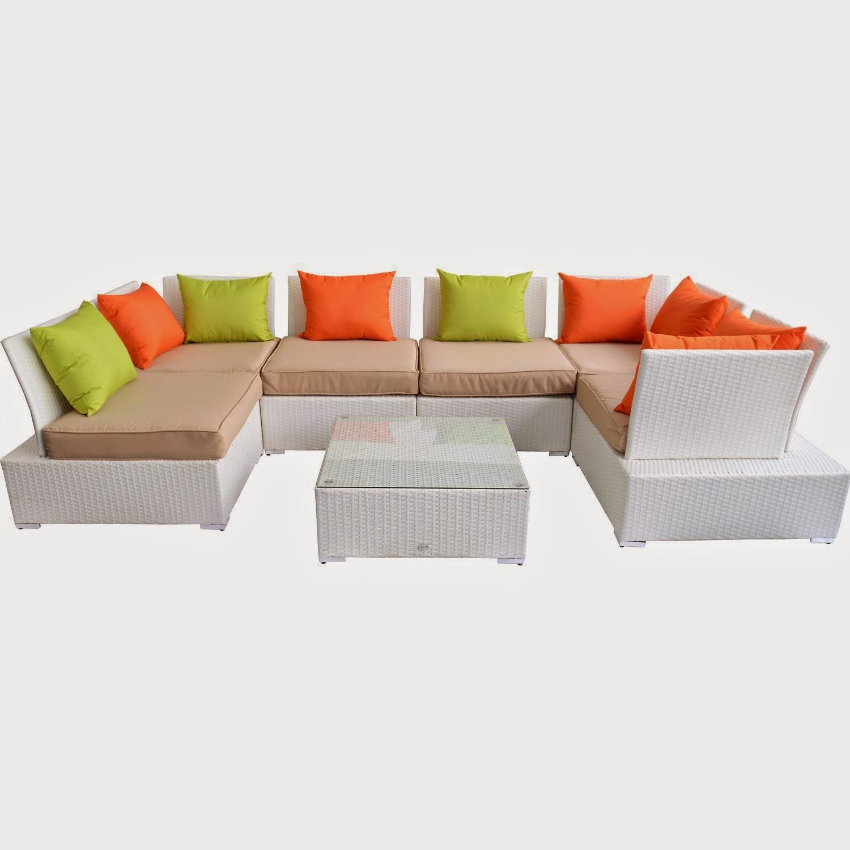 discount outdoor sofa set tudor style sofas until 62 outsunny 7pc pe rattan wicker