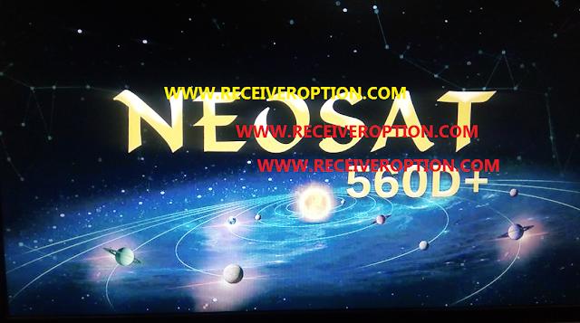 NEOSAT 560D+ HD RECEIVER AUTO ROLL POWERVU KEY NEW SOFTWARE