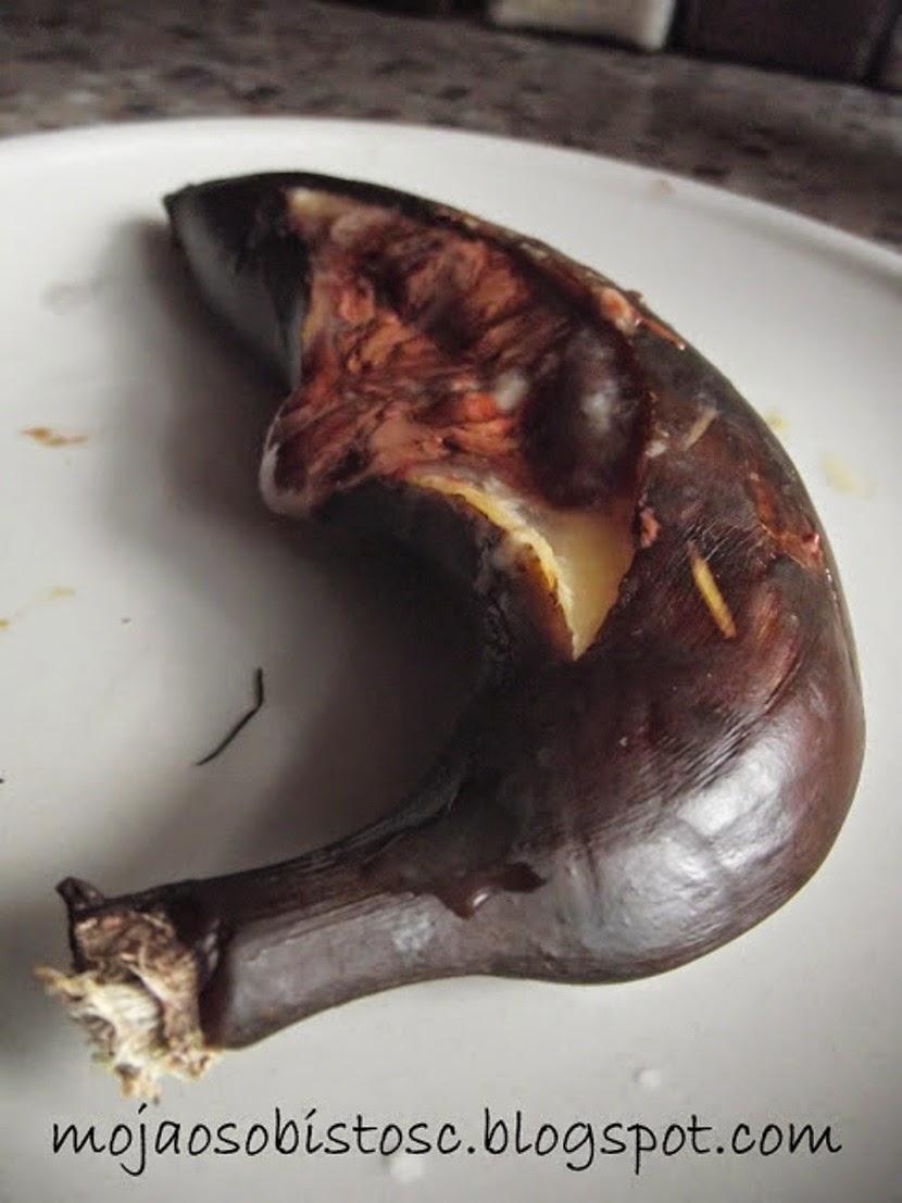 banany z czekoladą