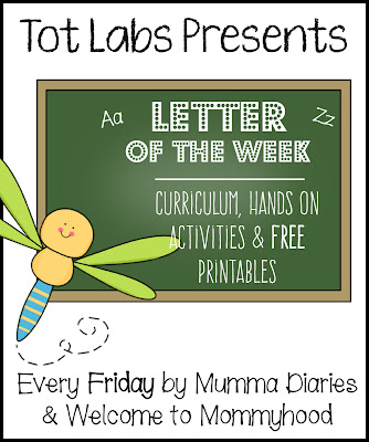 Tot Labs presents hands on letter activities for toddlers and preschoolers by Welcome to Mommyhood, #preschoolactivities, #montessoriactivities, #montessori, #handsonlearning, #letteroftheweek, #lotw, #freeprintables
