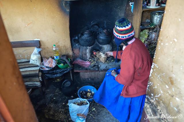 Hébergement chez l'habitant sur le lac Titicaca