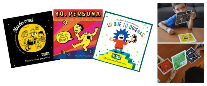 cuentos infantiles wonder ponder para hacer pensar, reflexionar, sentido ética moral niños