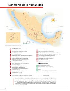 Apoyo Primaria Atlas de México 4to Grado Bloque II Lección 15 Patrimonio de la humanidad