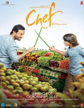 Chef 2017 Full Hindi Movie DVDRip Free Download