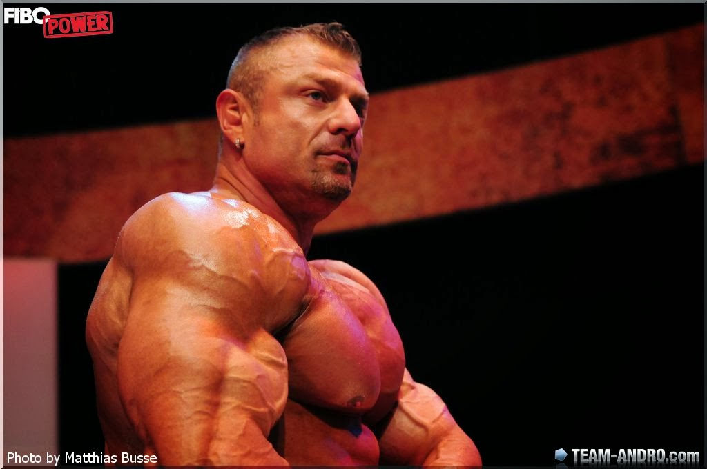Muscle Lover Czech Giant Dalibor Hajek