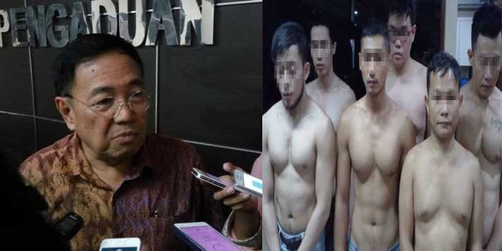 Sebut Grebek Pesta Sex Gay Langgar HAM, Ahoker Disemprot Komnas HAM