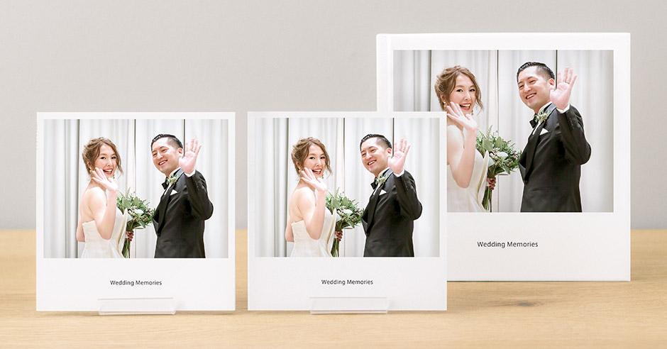 ノハナのフォトブックアプリは結婚式のアルバムにぴったり。