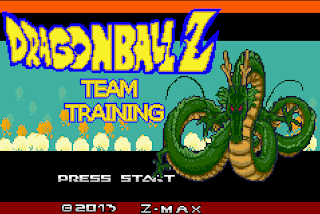 dragon ball z team training cover