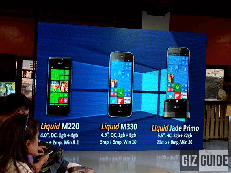 Liquid M220 and Liquid M330
