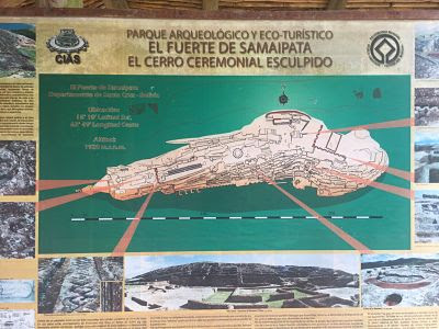 El fuerte de Samaipata.Bolivia.