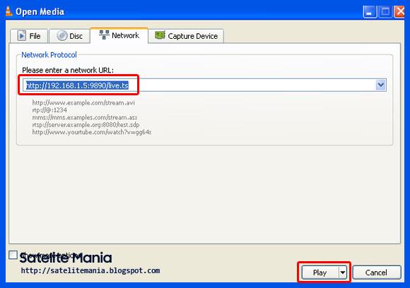 Cara WebServer Receiver Getmecom HD009 Super