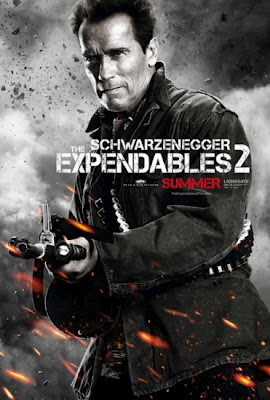 Arnold Schwarzenegger The Expendables 2 2012