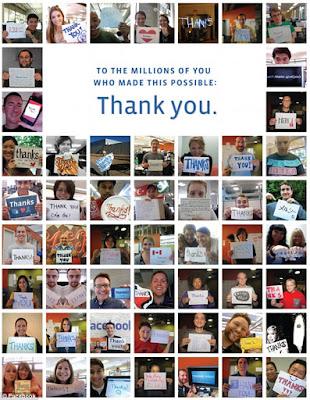1,000 Pekerja Facebook Jadi Jutawan