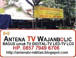 Jual ANTENA TV WAJANBOLIC  Jl Cikini Menteng Jakarta Pusat - Dekat Nasi Uduk Gondangdia