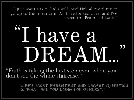 i have a dream speech quotes Martin Luther King Jr day ...