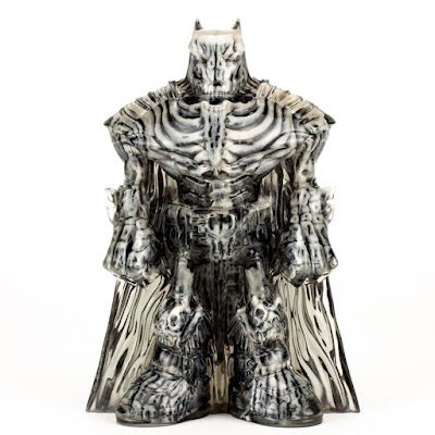 Five Points Festival 2018 Exclusive Batman Double-Cast Smoke & Bone Edition Resin Figure by DC Collectibles x Clutter Studios