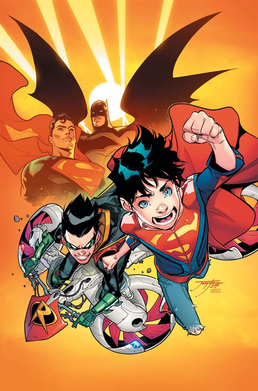 "The sons of Batman and Superman Gets Their Own Comic Book ""Super Sons"" #1 Preview"