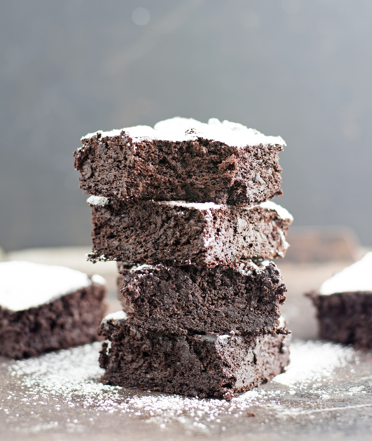 Double Chocolate Blender Brownies