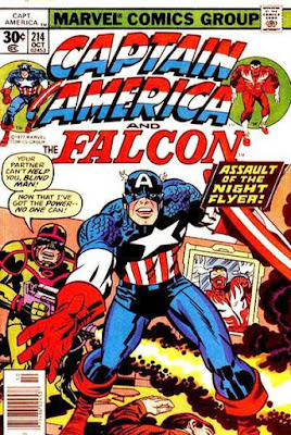 Captain America and the Falcon #214