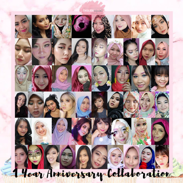 1 year anniversary Collaboration Beautiesquad