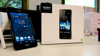 "Android Sony Xperia TX ""James Bond"" teknomu.com"