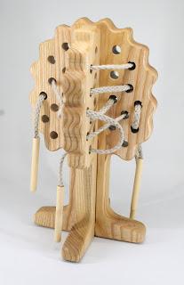 TT91, Threading Oak, Maxi, Lotes Wooden Toys