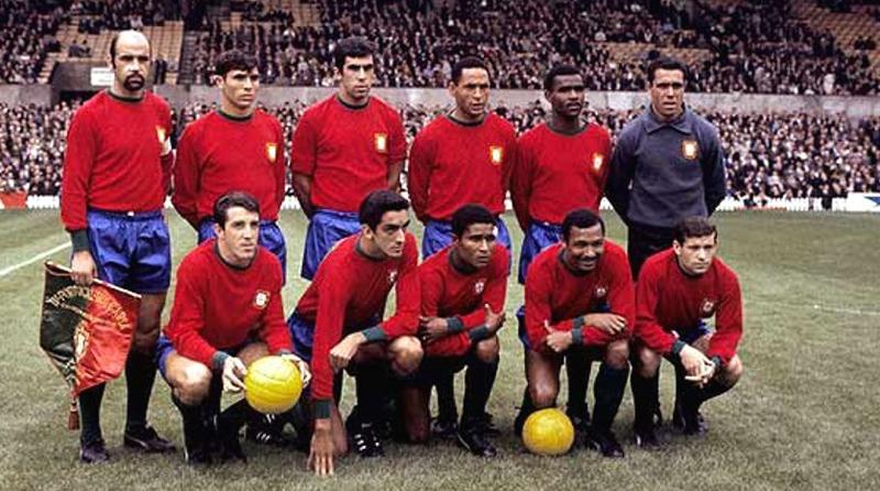 Resultado de imagem para seleção da portugal 1966