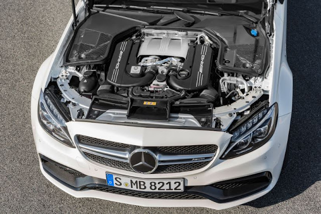 2017 Mercedes-AMG C63 S Coupe Engine