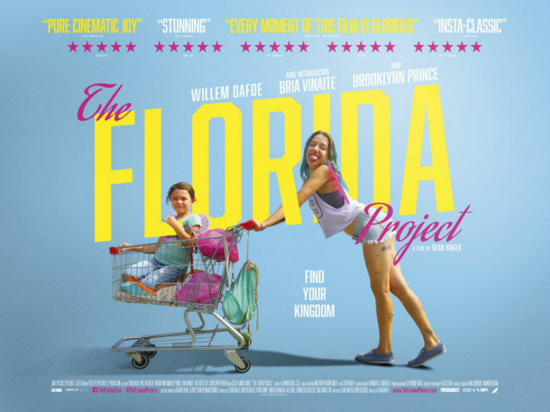 THE FLORIDA PROJECT uk poster