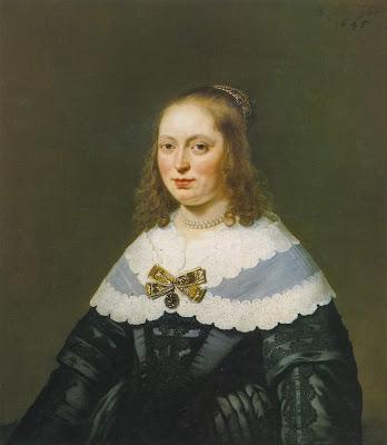 Bartholomeus van der Helst - portrait de Sophia Trip,1645.