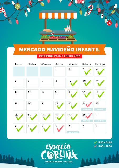 Navidades para niños 2016, navidad niños Coruña, talleres infantiles, magia, Reyes Magos, Papá Noel, pista de hielo coruña,