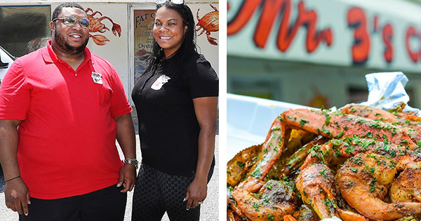 Rod and Rana Brown, founders of Mr. 3's Crab Pot