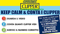 Logo Vinci gratis un Clipper Surprise Pack