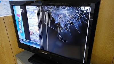 biaya ganti layar tv led