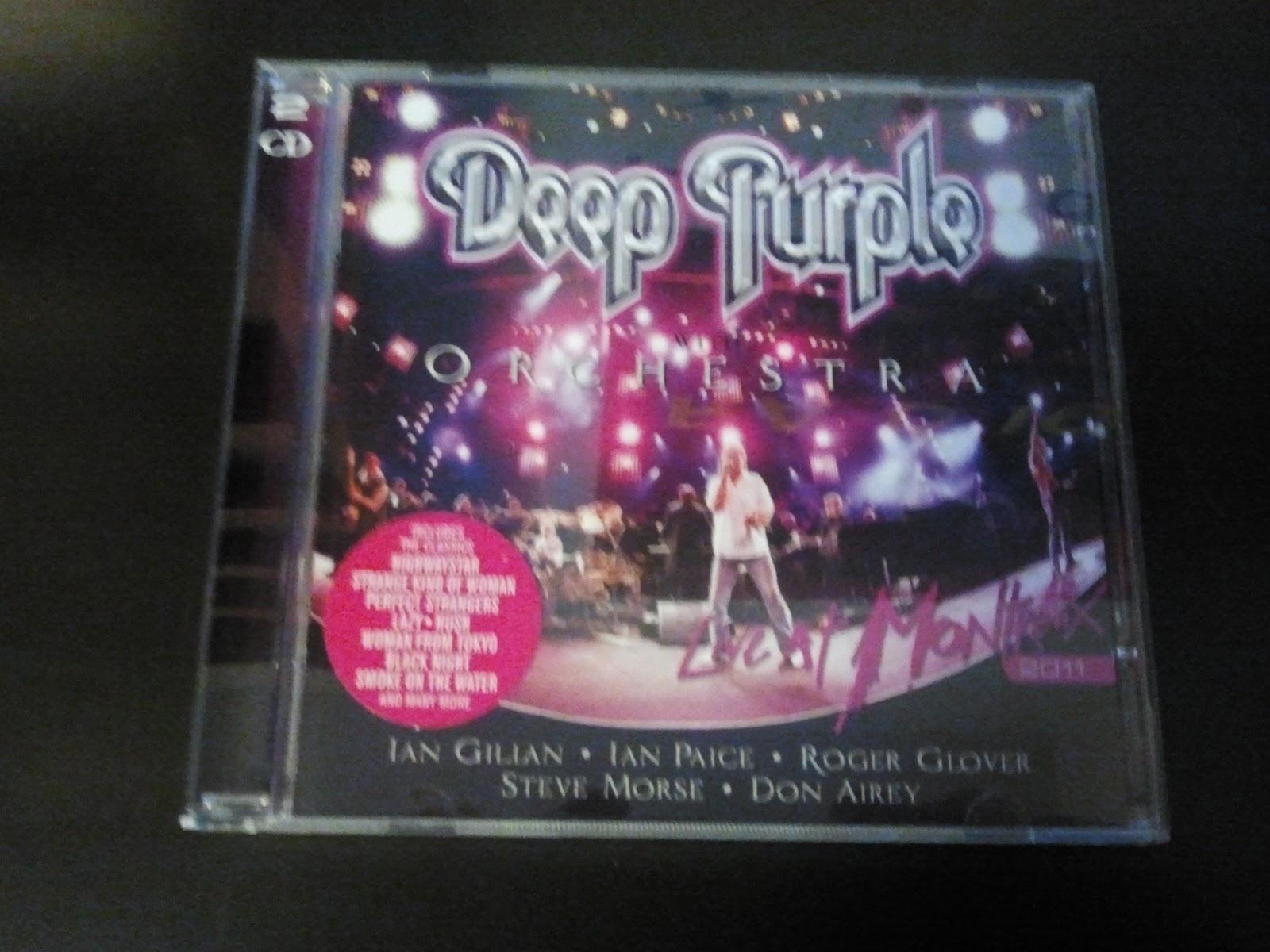 Montreux Deep 2011 Live Dvd Purple Cover