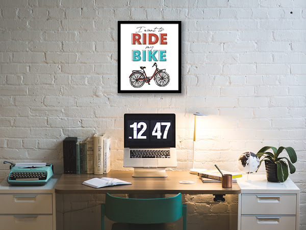 I Want to Ride my Bike Free Printable