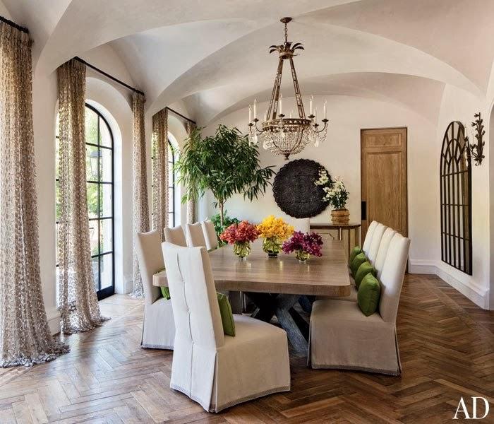 Inside Peek Kate S Dining Room Kitchen: Beautiful Abodes: Home Of: Gisele Bundchen & Tom Brady