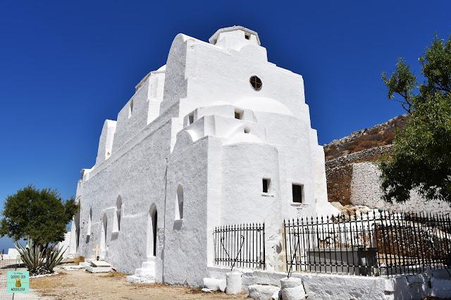 Iglesia Panagia, isla de Folegandros (Grecia)