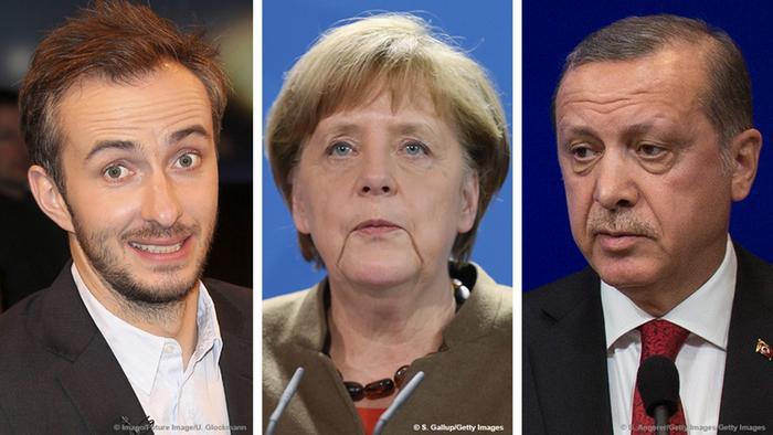 Asian Defence News Böhmermann Satire Case Splits Germanys