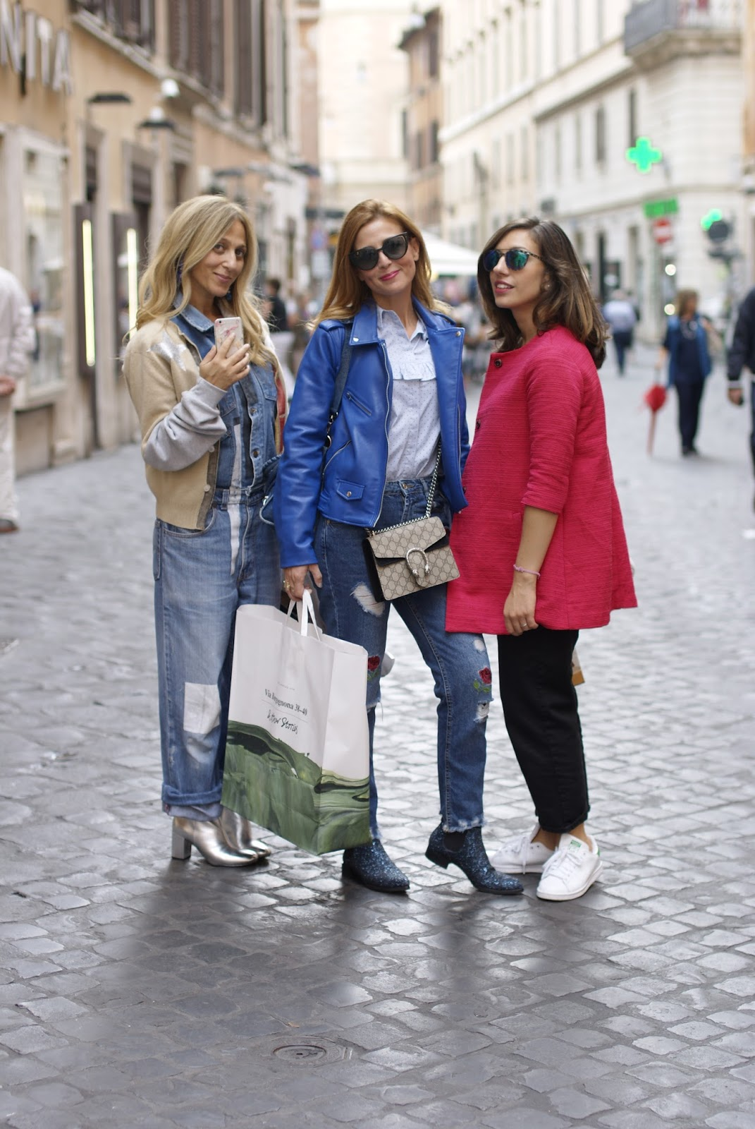 Fashion Bloggers meetup in Rome on Fashion and Cookies fashion blog, fashion blogger style