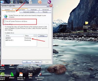 Mengenal Cara kerja system Restore Pada Windows