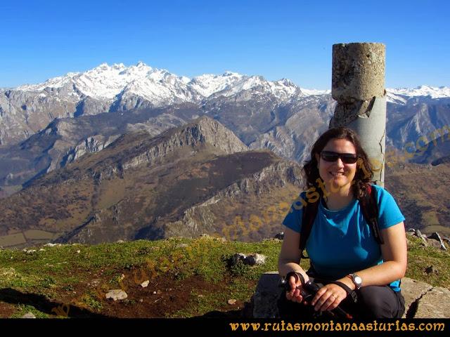 Rutas Pico Pierzu: Foto en la cima