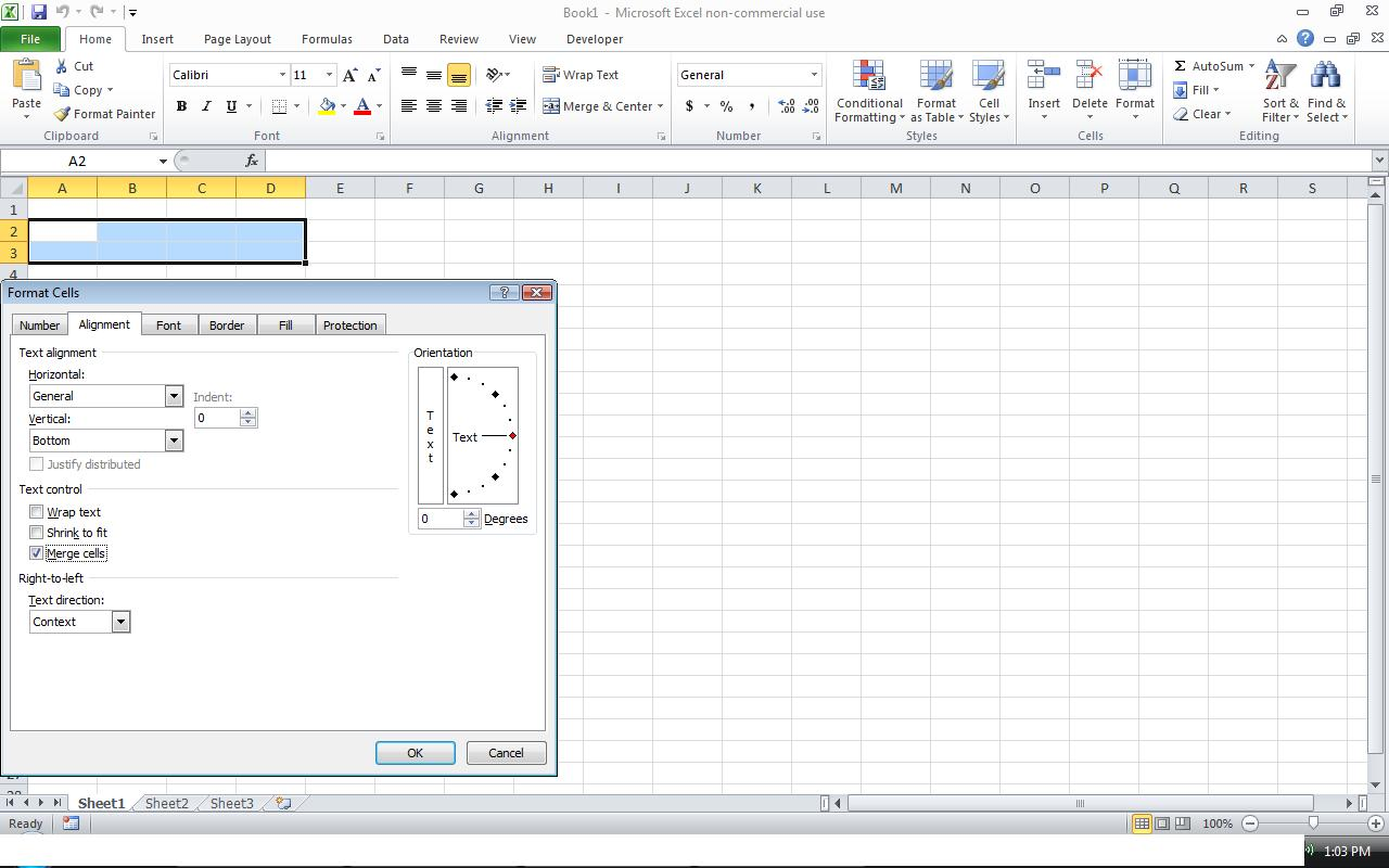 Power Of Excel How To Merge Cells In Excel