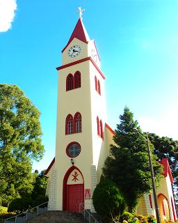 Igreja do Relógio, em Gramado