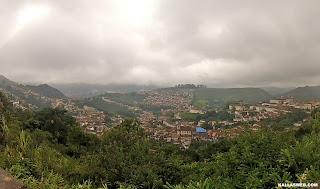 Bela vista de Ouro Preto/MG.