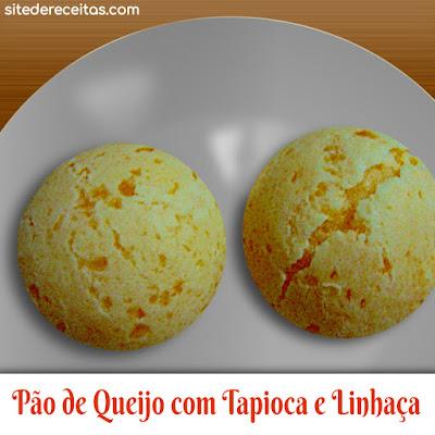 Pão de queijo com tapioca e linhaça