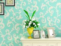 Perbedaan antara Wallpaper dan Wallsticker Dinding